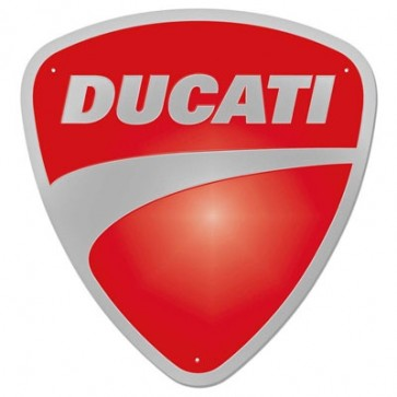 Insignia de metal Ducati