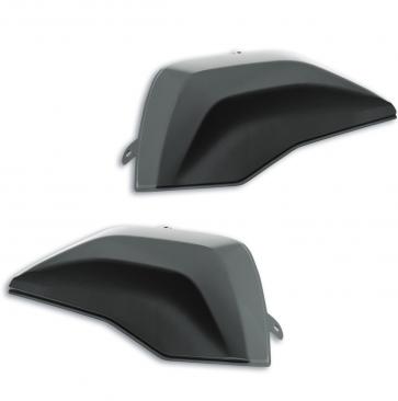 Set de covers para maletas rígidas laterales, gris