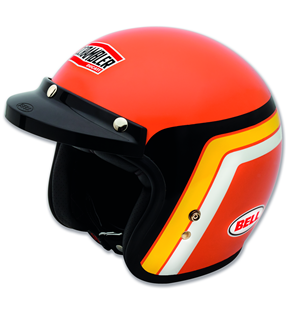 Casco SCR Orange Track