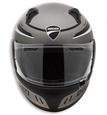Casco integral Black Steel.