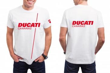 Nueva Camiseta Ducati Canarias - Hombre