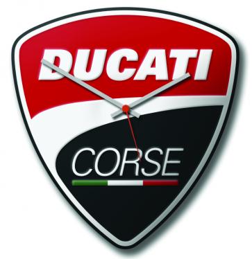 Reloj de pared Ducati Corse.