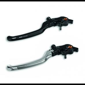Leva embrague 3D cable DucatiByriz plateada