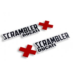 Set de logotipos Scrambler Urban Enduro