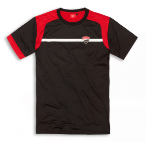 Camiseta Ducati Corse 19. Negra.