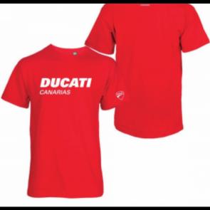 Camiseta Ducati Canarias, roja
