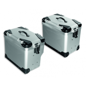 Set de maletas de aluminio